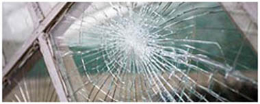 Ashton In Makerfield Smashed Glass